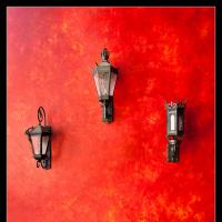 Red Wall by Mike Hatam