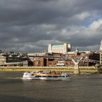 Millenium Bridge #1 by Mike Hatam in London with RX1