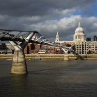 Millenium Bridge #3 by Mike Hatam in London with RX1