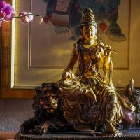 Buddha Images At The Berkeley Monastery by monk in Regular Member Gallery