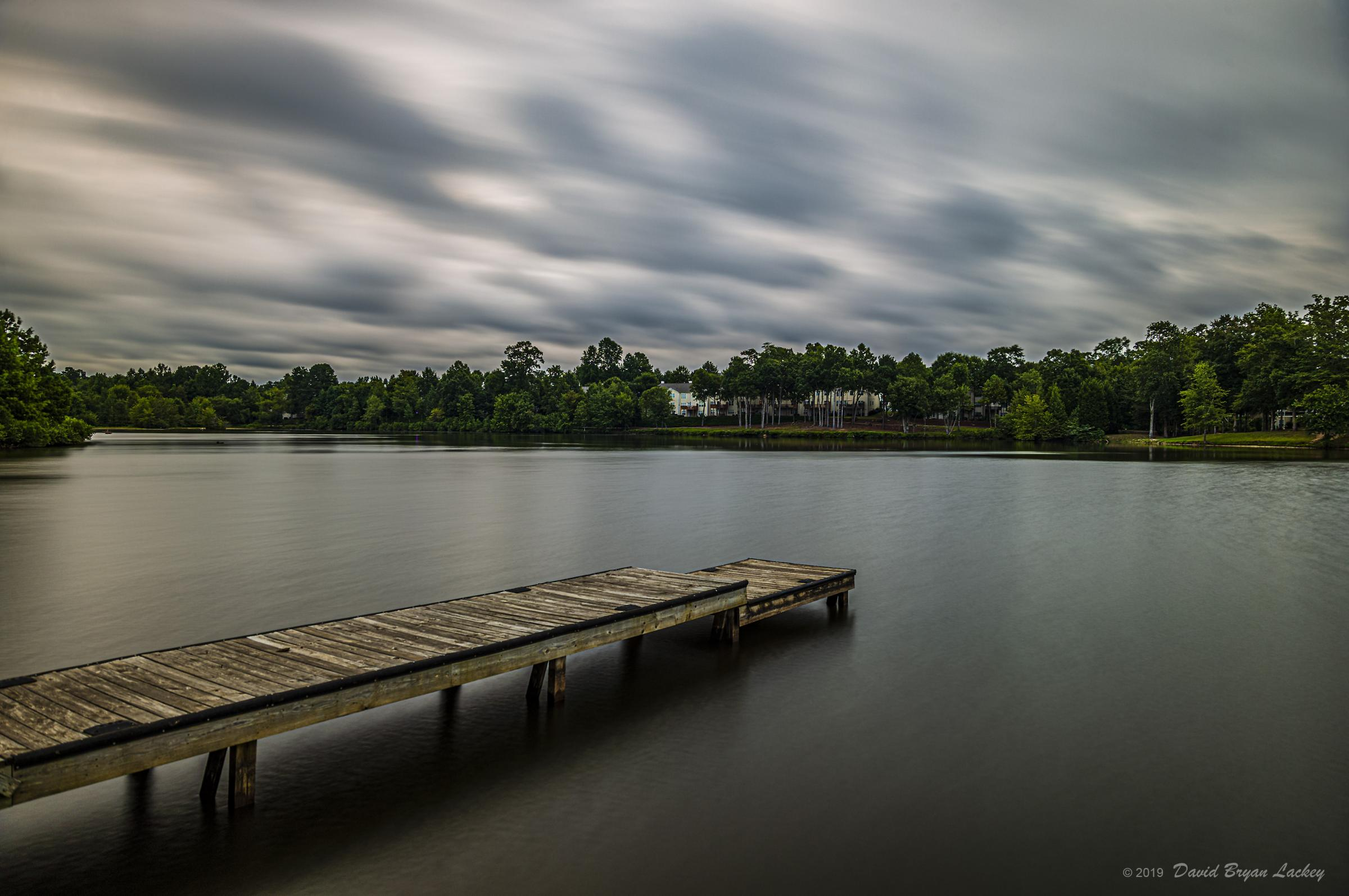 Moody Sky over the Lake