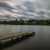 Moody Sky over the Lake by dave.gt in dave.gt