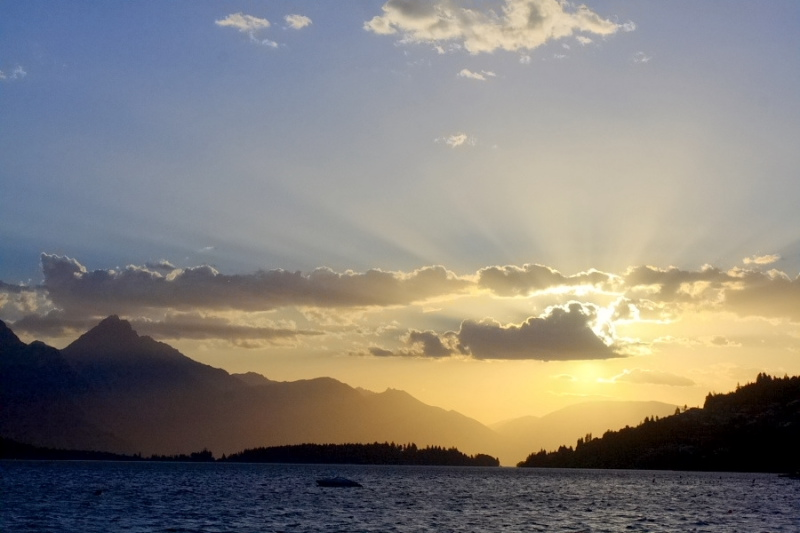 Queenstown Sunset by waynelake in Regular Member Gallery