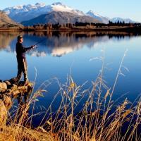 Lake Hayes Fishing by waynelake