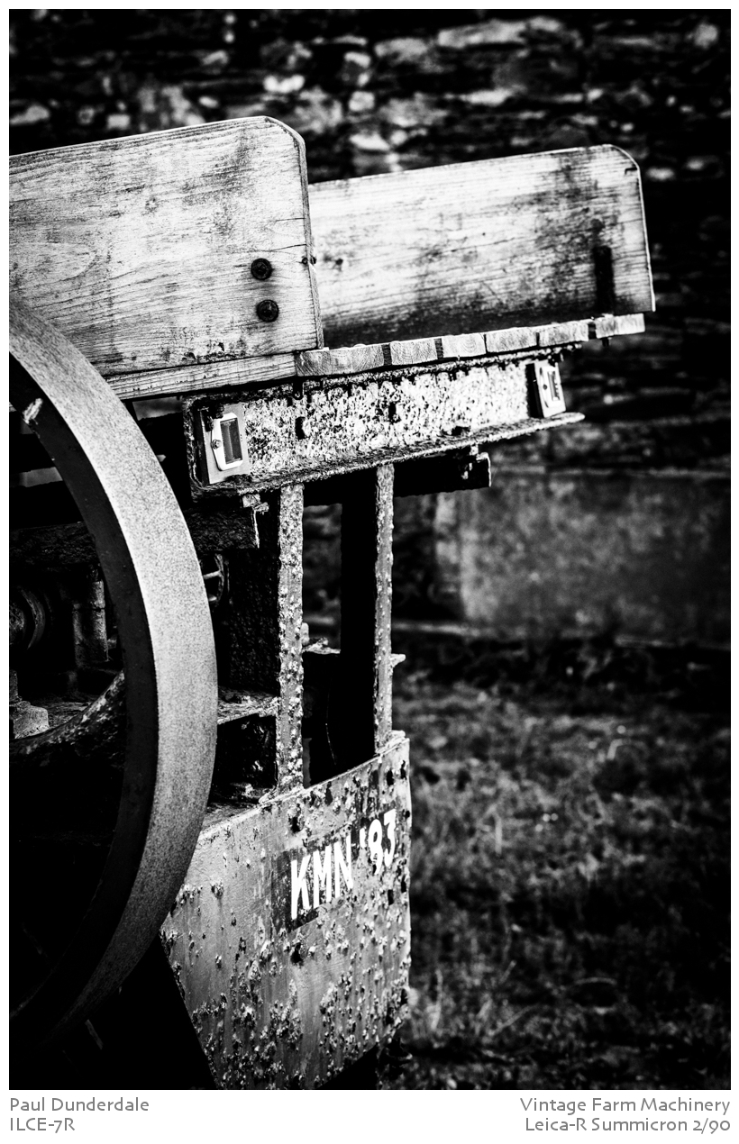 Vintage Farm Machinery by dunders in dunders