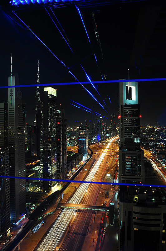 Sheikh Zayed Road In Dubai by Magic in Regular Member Gallery