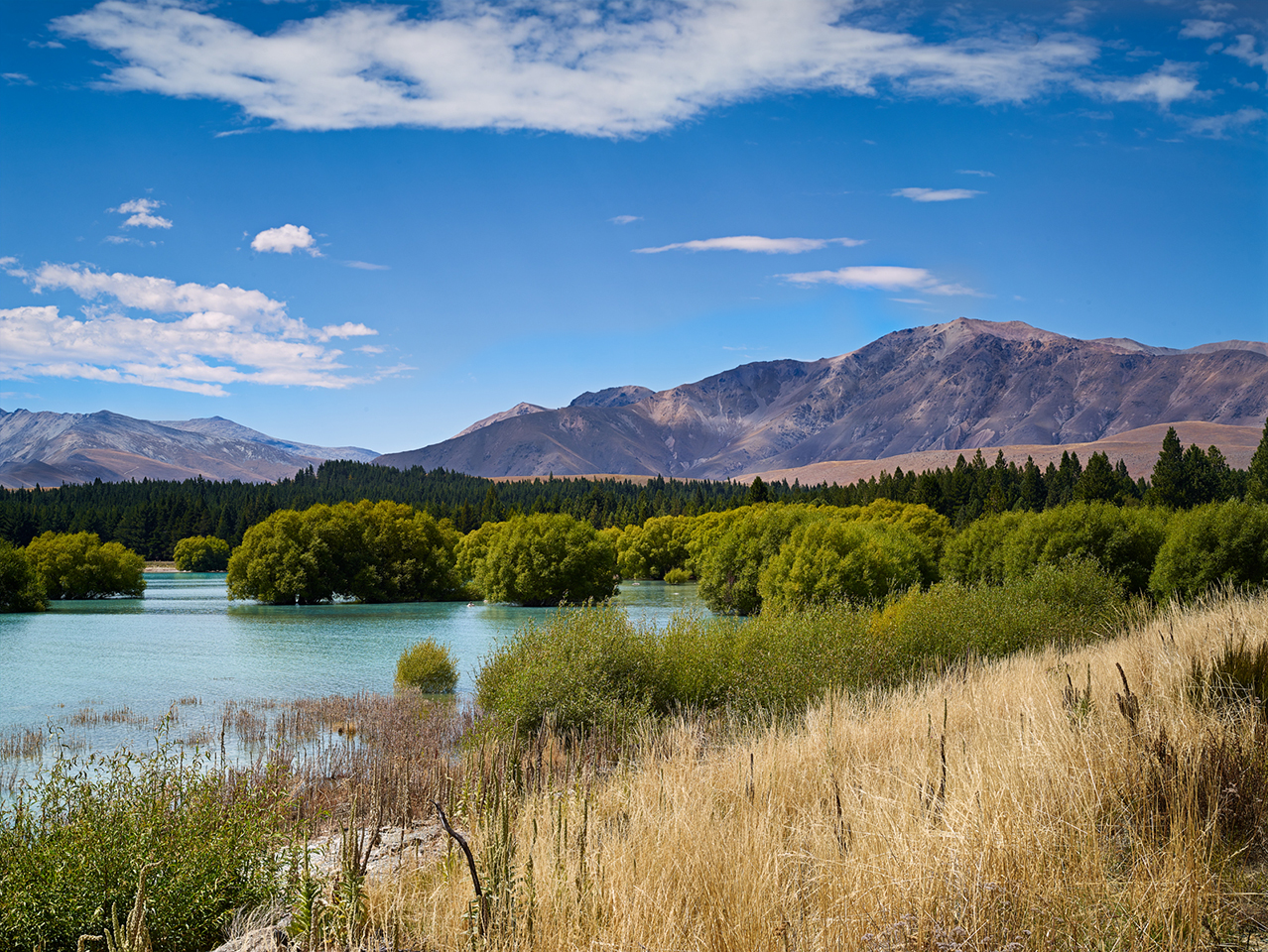 New Zealand On Way To Mt Cook by alajuela in alajuela