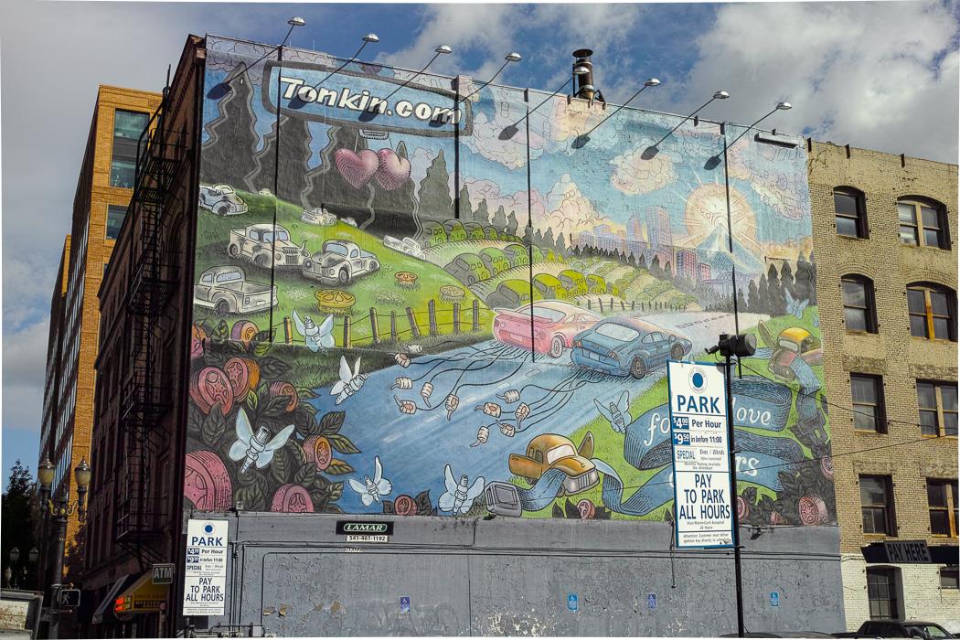 Portland Mural Art by Norm N in Regular Member Gallery