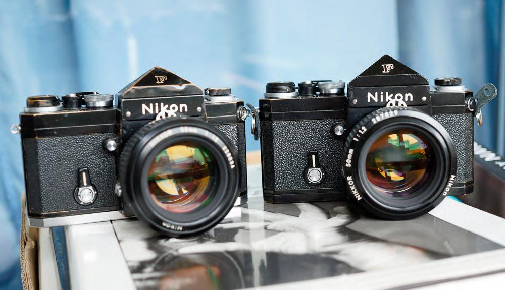 Nikon F2 Mirror Lock Up