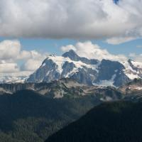 Mt Shuksan And Table Mtn by Shac