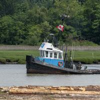 tug boat by Shac