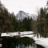 Yosemite after snowstorm by scatesmd