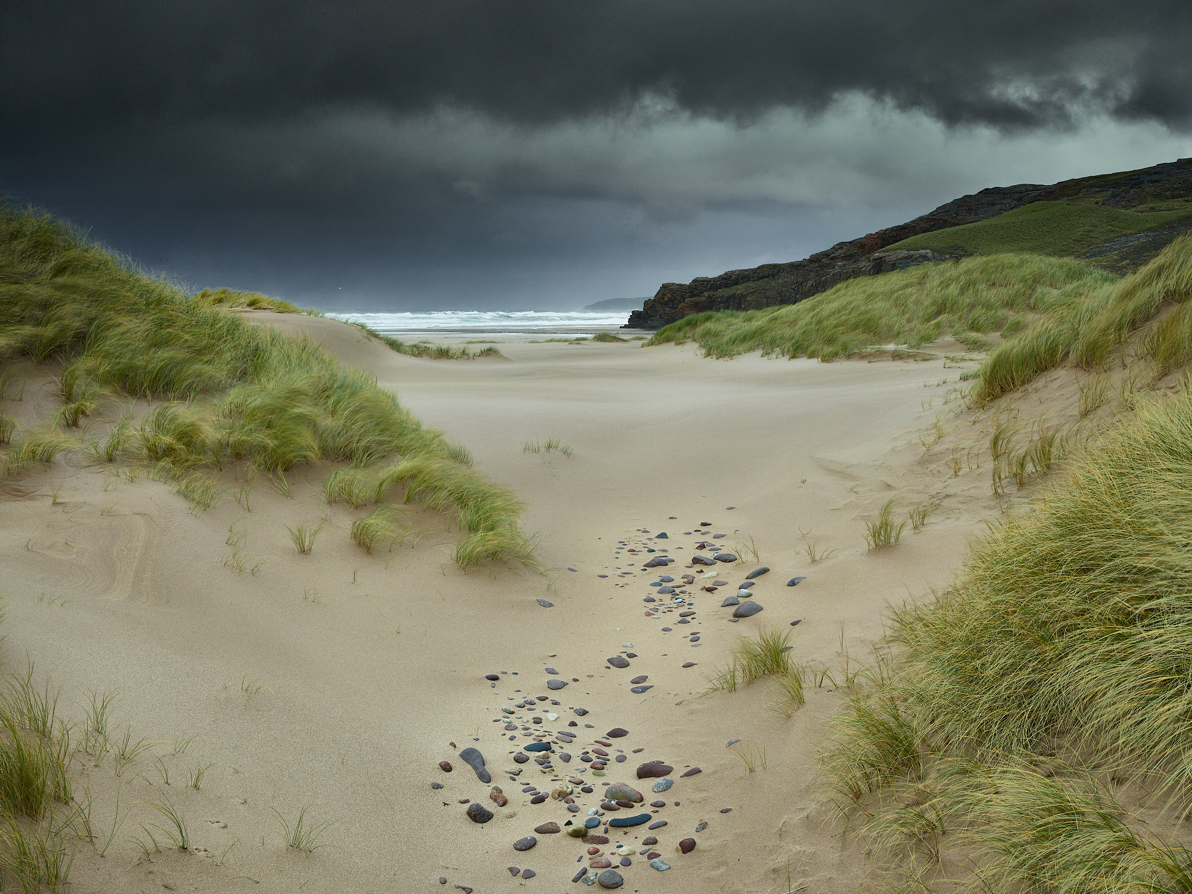 Sandwood Bay, Sutherland. It was wild! by 4*Paul in Regular Member Gallery