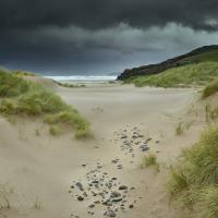 Sandwood Bay, Sutherland. It was wild! by 4*Paul