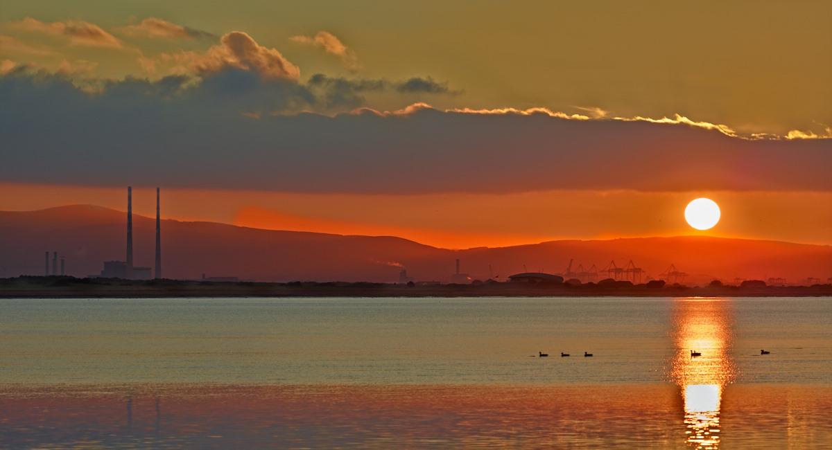 Dublin Bay Winter Sunset by Nutcracker in Regular Member Gallery