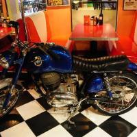 Bike @ Diner by Leica 77 in Regular Member Gallery