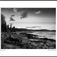 acadia shoreline by dwood