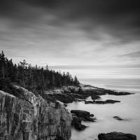 acadian cliffs by dwood