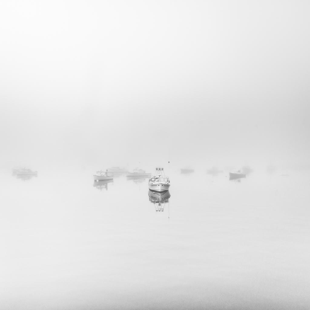 fogged in