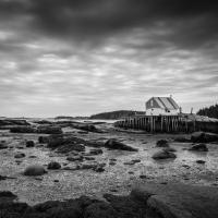 stonington harbor low tide