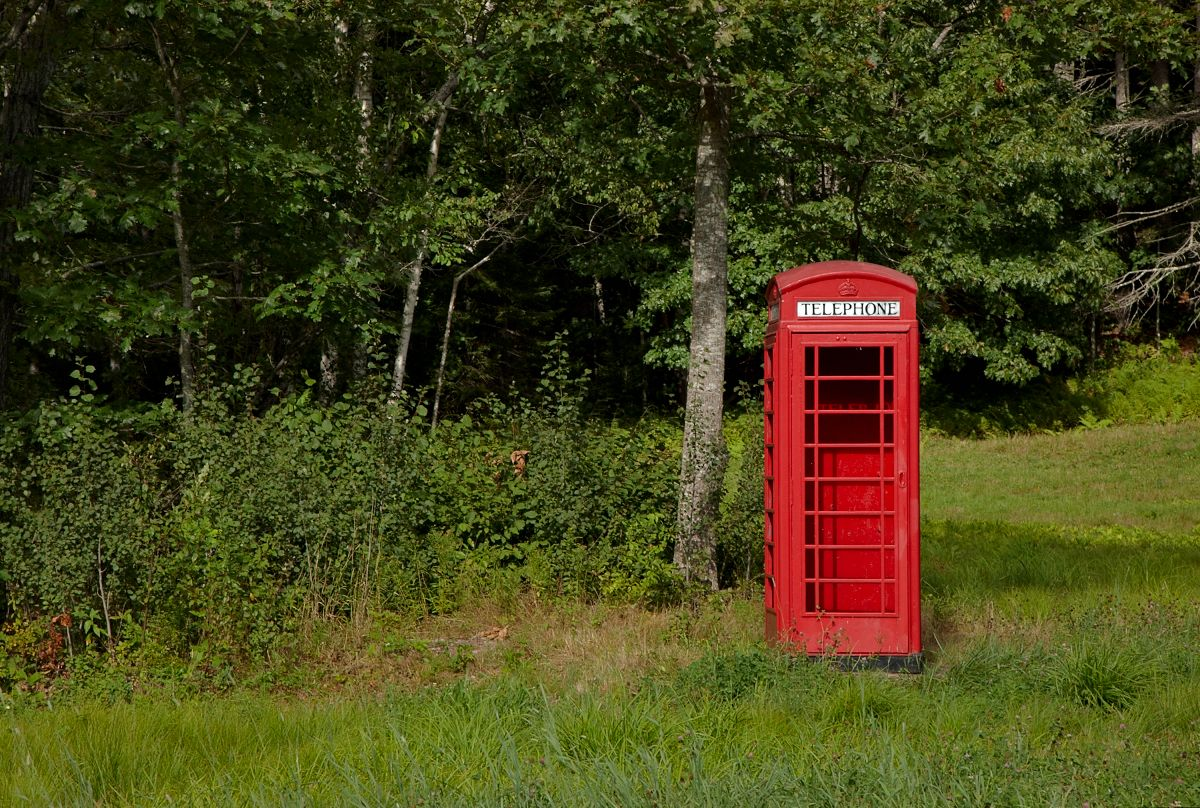 Telephone Box, Maine Woods by Bob in  Instructor Gallery (click to expand)