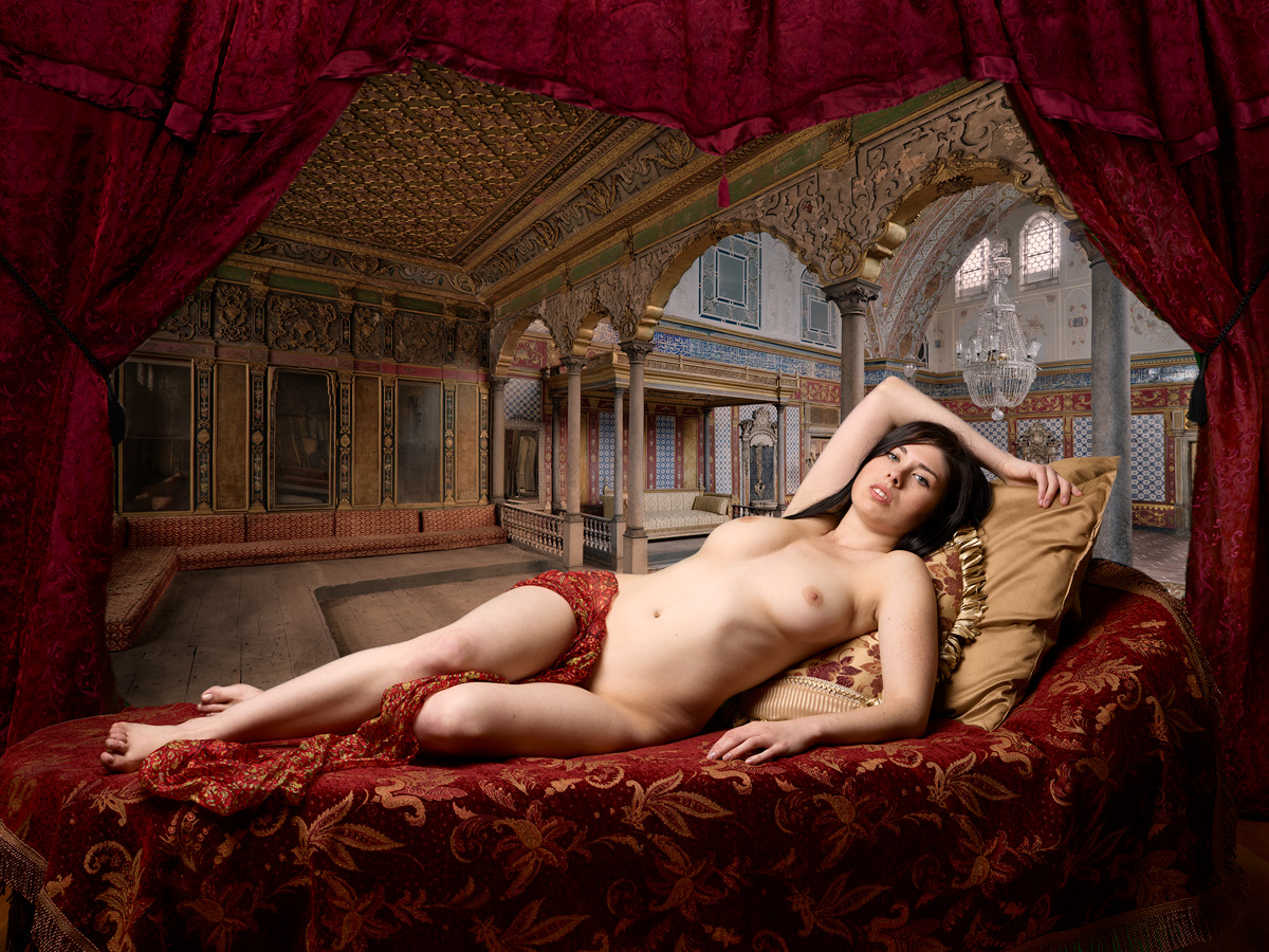 Odalisque Nr.1 by Bob in NSFW:Hopefully-artistic nudes or implied nudes