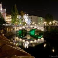 Ljubljana At Night by sangio