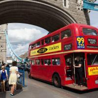 Routemaster On Tower Bridge by Steve P. in Regular Member Gallery