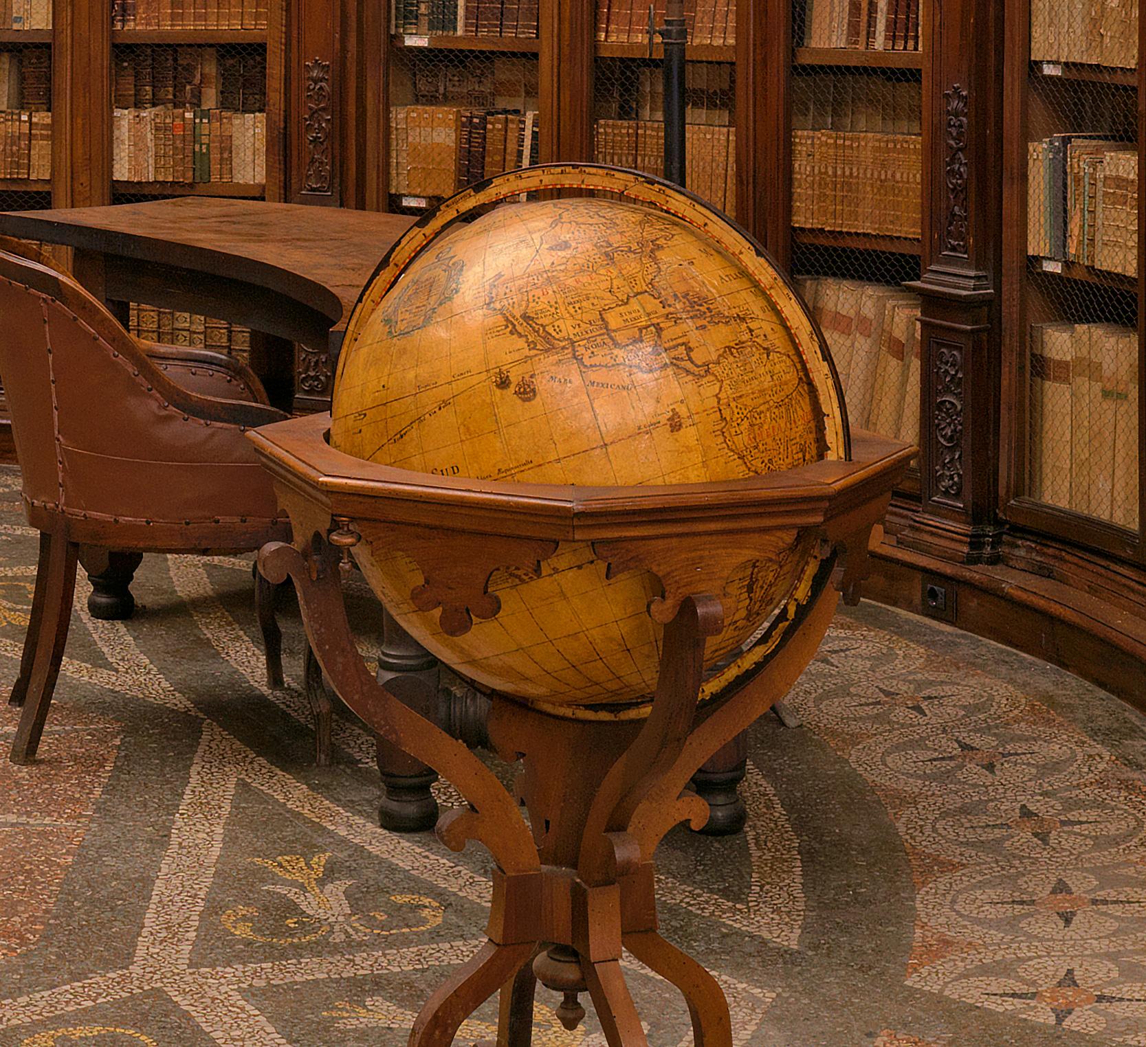 Medieval Library Globe detail 100% Crop by modator in Regular Member Gallery