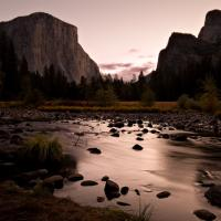 Touch of Dawn, Valley View by Bob in 2007-10 Yosemite