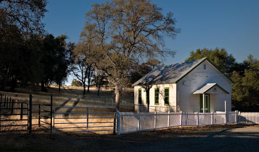 Morgan Chapel, Ward's Ferry Road by Bob in 2007-10 Yosemite