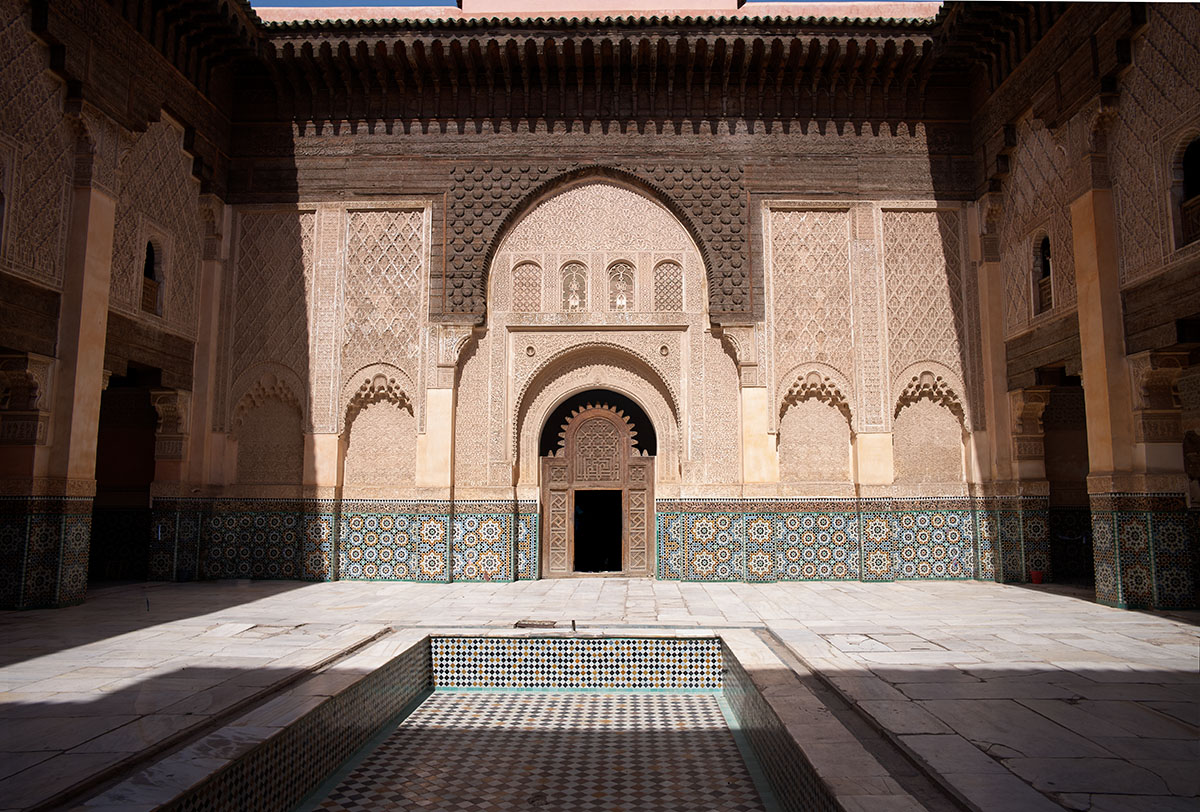 Ben Youssef Madrasa by Bob in Bob Freund