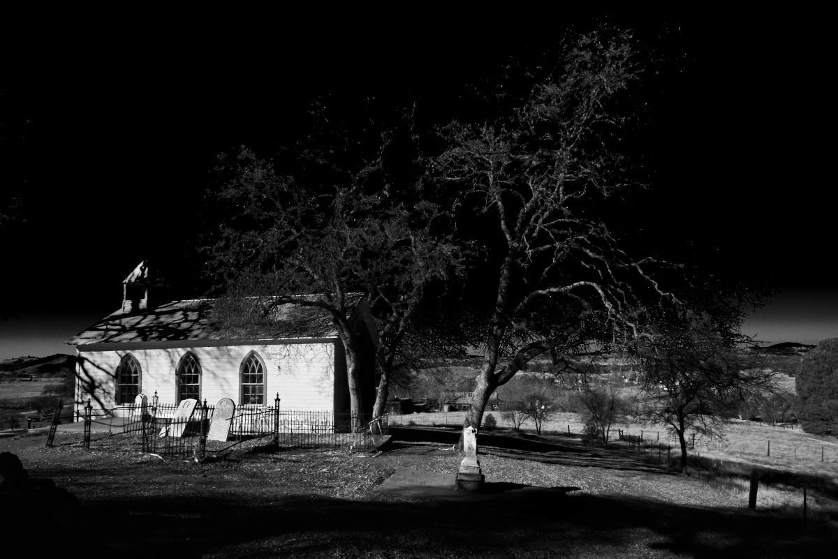 Church At Chinese Camp by Bob in Bob Freund