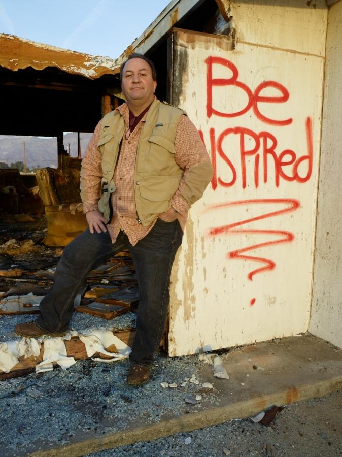 Be Inspired by Bob in 2010-02 Salton Sea