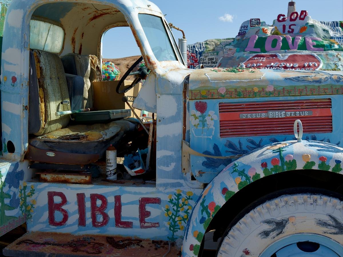 God Is Love by Bob in 2010-02 Salton Sea