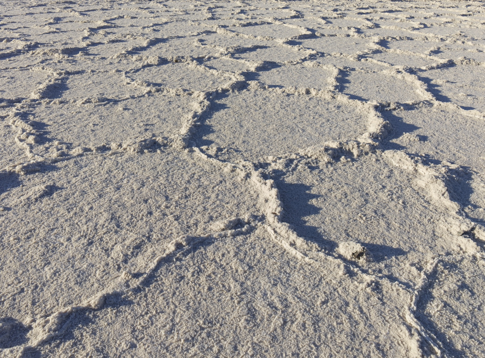Salt Flats Near Badwater by Bob in 2012-02 Death Valley