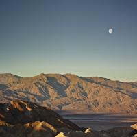 Workshop Members Waiting For The Light by Bob in 2012-02 Death Valley