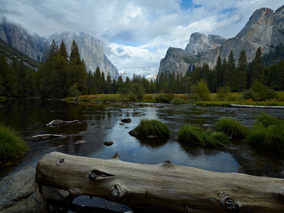 Yosemite Valley View by Bob in 2010-10 Yosemite