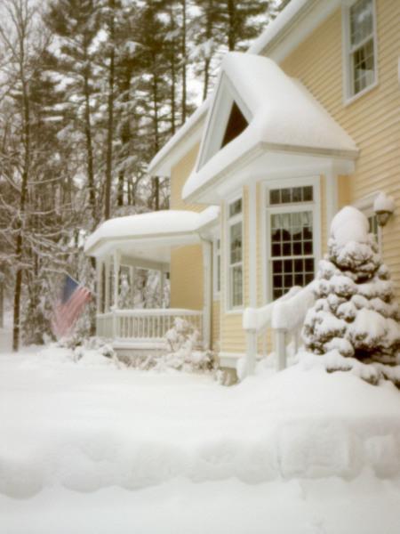 2011-01-12 Snow By Pinhole by Bob in Bob Freund