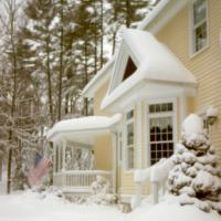 2011-01-12 Snow By Pinhole by Bob in Bob Freund