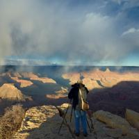 Jack Shooting The Grand Canyon by Bob in Bob Freund