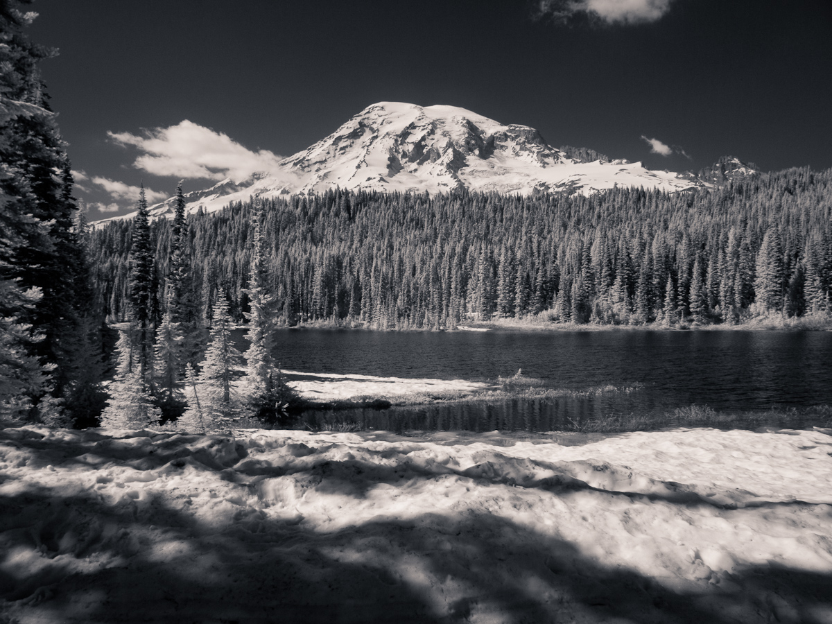 Mt Rainier From Reflecting Lakes by Bob in  Instructor Gallery (click to expand)