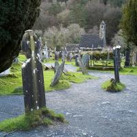 Glendalough Monastic site by Bob in Bob Freund
