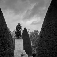 Le Penseur by Bob in Bob Freund