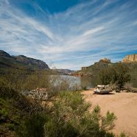 Apache Lake by James in James