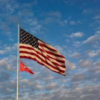 Flag - Pixels Foto - Utah by James in James