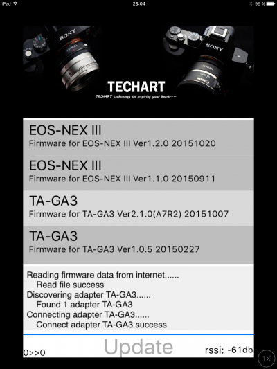 Updating the techart adapter 1 by Annna T in Regular Member Gallery