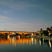 London Bridge, Lake Havasu City, AZ by Cindy Flood