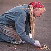 Street Artist by Cindy Flood in Cindy Flood