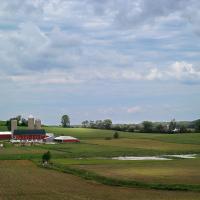Eden, Wisconsin Farmstead by Cindy Flood in Cindy Flood